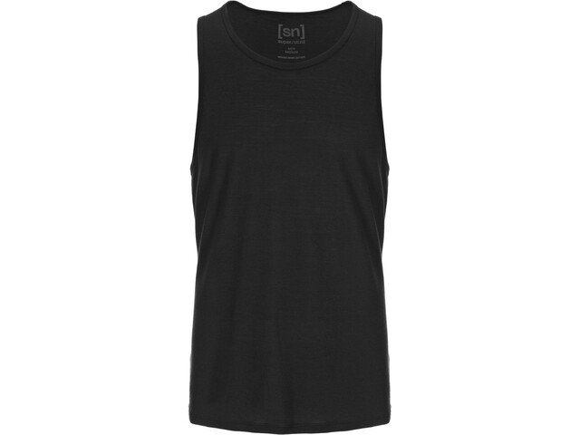 super.natural Base Tank 140 Miehet, jet black